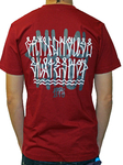GRINDHOUSE TBJP Collaboration Tee Dark Red