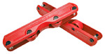 GROUNDCONTROL Featherlite II Frame *red*