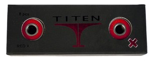 TITEN Red X Swiss Bearings