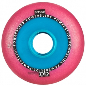 POWERSLIDE Defcon RTS Wheel Pink 76mm/85A 4-Pack