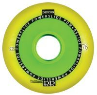 POWERSLIDE Defcon RTS Wheel Yellow 80mm/85A 4-Pack