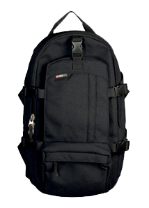 SEBA Slim Backpack Black