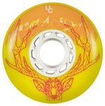 UNDERCOVER Deer Wheel 76mm/86A SR - Gelb 4-Pack