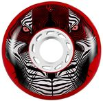 UNDERCOVER Tiger Wheel 80mm/86A SR - Rot