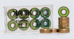 KALTIK Green Titanium Bearings