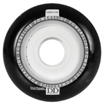 POWERSLIDE Defcon Dual Density Wheel 76mm/85A black 4-Pack