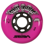 SEBA Street Invader Wheel 76mm/84A Pink