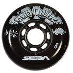 SEBA Street Invader Wheel 80mm/84A Black