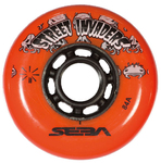SEBA Street Invader Wheel 80mm/84A Orange