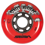 SEBA Street Invader Wheel 80mm/84A Red