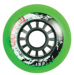 POWERSLIDE Hurricane Wheel 80mm/85A Green