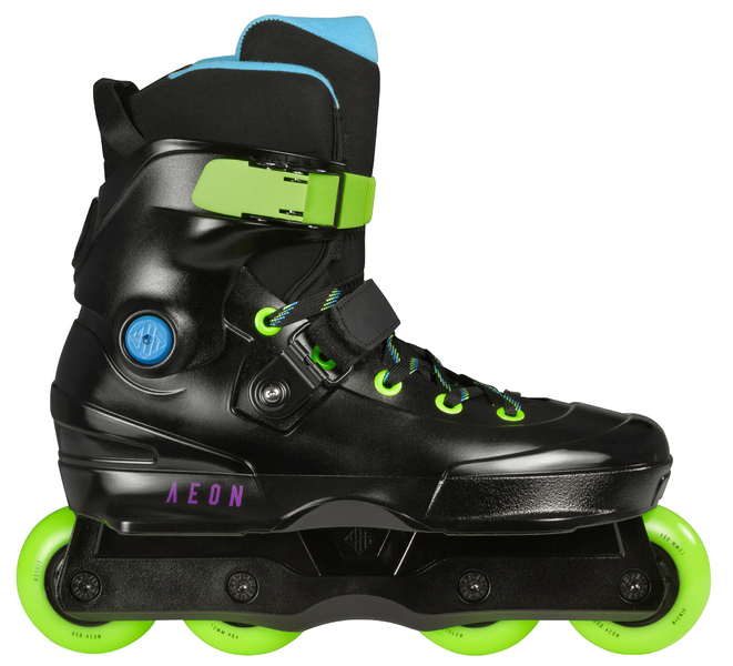 Grey Inlineskating-Artikel Usd Aeon 72 Aggressive Inline Skates