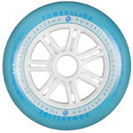 POWERSLIDE Megacruiser Wheel 125mm/86A White/Blue