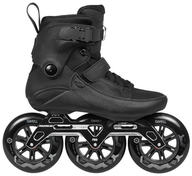 5dc00e08da7 POWERSLIDE Swell Trinity 125 Black   Grindhouse Skateshop