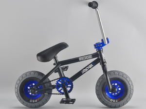 ROCKER 3 Reggie Rocker Black Mini BMX + Freecoaster