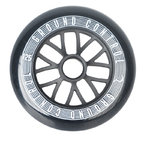 GROUNDCONTROL Tri-Skate Wheels 125mm/85A incl. ABEC 9 Bearings 3-Pack