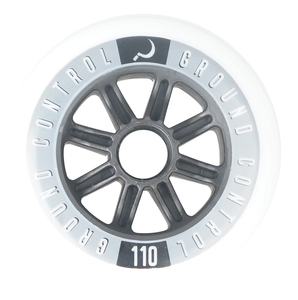 GROUNDCONTROL Tri-Skate Wheels 110mm/85A incl. ABEC 9 Bearings 3-Pack