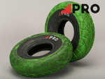 ROCKER Street Pro Tyre Green Black Marbled