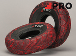 ROCKER Street Pro Tyre Red Black Marbled