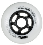 POWERSLIDE Spinner Wheels 90mm/85a White