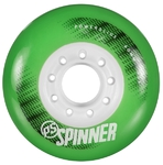 POWERSLIDE Spinner Wheels 80mm/85A Green 4-Pack