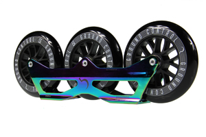GROUNDCONTROL Tri-Skate 125mm UFS Frame-Pack V2 Oil Slick