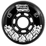 FR Street Invader Wheel 76mm/84A Black
