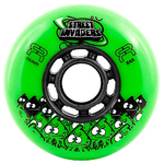 FR Street Invader Wheel 76mm/84A Green