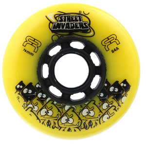 FR Street Invader Wheel 76mm/84A Yellow
