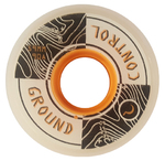 GROUNDCONTROL Elevation Wheel 59mm/90A white/orange 4-Pack