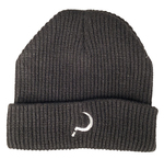 GROUNDCONTROL Woven Knit Beanie Black