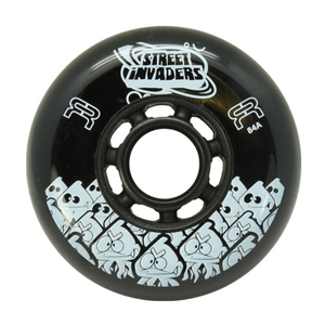 FR Street Invader Wheel 72mm/84A Black