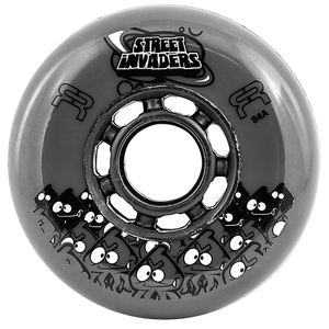 FR Street Invader Wheel 72mm/84A Grey