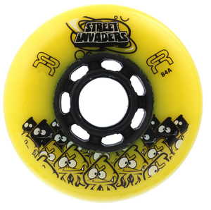 FR Street Invader Wheel 84mm/84A Yellow