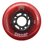 FR Glitter Wheels 76mm/85A Red