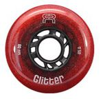 FR Glitter Wheels 80mm/85A Red