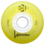 LUMINOUS LED Wheel 76mm/85A Yellow