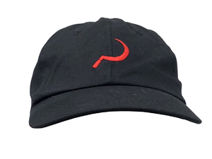 GROUNDCONTROL Sichel Dad Hat Black