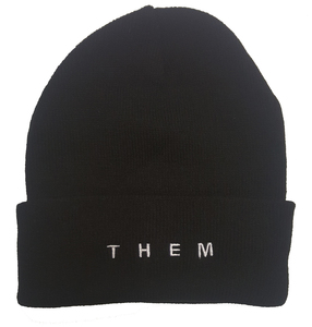 THEM Embroidered Beanie