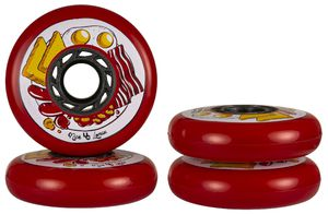 UNDERCOVER Nick Lomax Foodie Wheel 80mm/88A 4-Pack