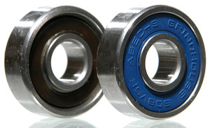 GRINDHOUSE Super Fast Ceramic Hybrid Bearings 12-Pack