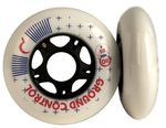 GROUNDCONTROL GC Wheel 80mm/85A White 4-Pack