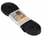 MYFIT Waxed Laces Pro black