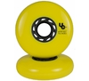 UNDERCOVER Team Wheels Yellow 80mm/86A 4-Pack