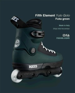 ROCES 5th Element UFS Yuto Goto Pro