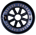 GROUNDCONTROL Tri-Skate Wheels 110mm/85A Black/Gold  3-Pack