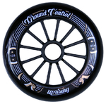 GROUNDCONTROL Tri-Skate Wheels 125mm/85A Black/Gold 3-Pack