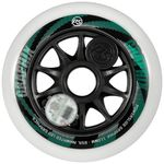 POWERSLIDE Graphix Wheel White 110mm/85A