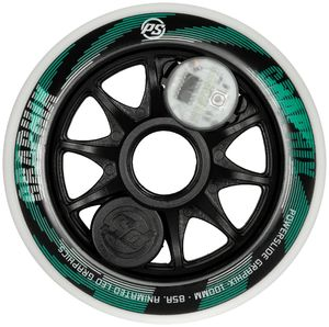 POWERSLIDE Graphix Wheel White 100mm/85A