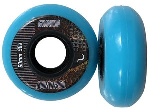 GROUNDCONTROL EarthCity Wheel Turquoise 60mm/90A 4-Pack